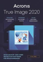Verpackung von Acronis True Image 2020 (5 Geräte / 12 Monate)  [MULTIPLATFORM]