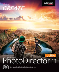 Verpackung von CyberLink PhotoDirector 11 Ultra [PC-Software]