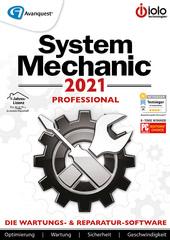 Verpackung von System Mechanic 2021 PRO - 12 Monate / unbegrenzte Geräte [PC-Software]