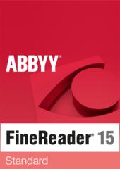 Verpackung von Finereader 15 Standard [PC-Software]