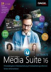 Verpackung von CyberLink Media Suite 16 Ultimate [PC-Software]