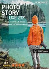 Verpackung von MAGIX Photostory Deluxe 2021  [PC-Software]