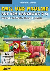 Verpackung von Emil und Pauline auf dem Hausboot 2.0 - Deutsch und Mathe für die 1. Klasse [PC-Software]