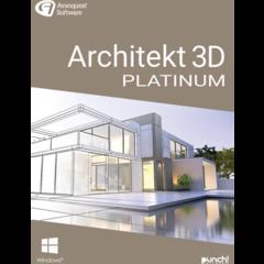 Verpackung von Avanquest Architekt 3D 21 Platinum [PC-Software]