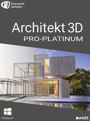 Verpackung von Avanquest Architekt 3D 21 Pro-Platinum [PC-Software]