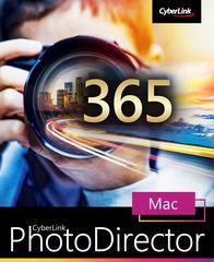 Verpackung von CyberLink PhotoDirector 13 Ultra für MAC 365 - 12 Monate [Mac-Software]