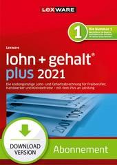 Verpackung von Lexware lohn+gehalt plus 2021 - Abo Version [PC-Software]