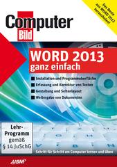 Verpackung von ComputerBild Word 2013 ganz einfach [PC-Software]