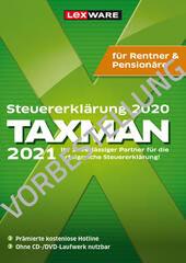 Verpackung von Taxman 2022 Rentner & Pensionäre (für Steuerjahr 2021) - Vorbestellung [PC-Software]