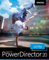 Verpackung von CyberLink PowerDirector 20 Ultra [PC-Software]