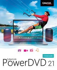 Verpackung von CyberLink PowerDVD 21 Standard [PC-Software]