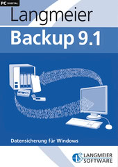 Verpackung von Langmeier Backup 9.1 Professional inkl. 2 Jahre Maintenance [PC-Software]