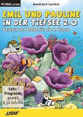 Verpackung von Emil und Pauline in der Tiefsee 2.0 - Deutsch und Mathe für die 2. Klasse [PC-Software]