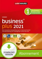 Verpackung von Lexware business plus 2021 - Abo Version [PC-Software]