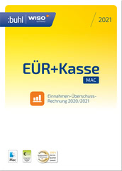 Verpackung von WISO EÜR & Kasse 2021 für MAC [Mac-Software]