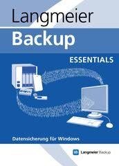 Verpackung von Langmeier Backup 10 Essentials [PC-Software]