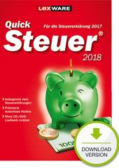 Verpackung von Lexware QuickSteuer 2018 (für Steuerjahr 2017) [PC-Software]