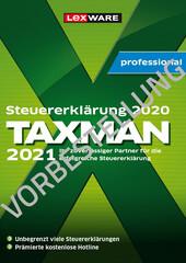 Verpackung von Taxman professional 2022 für (Steuerjahr 2021) 3-Platz-Lizenz - Vorbestellung [PC-Software]