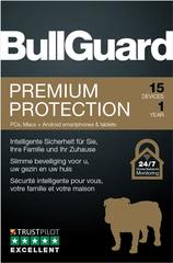 Verpackung von BullGuard Premium Protection 15 Geräte 12 Monate [MULTIPLATFORM]