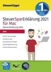Verpackung von SteuerSparErklärung plus 2021 (für Steuerjahr 2020) Mac [Mac-Software]