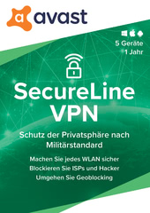 Verpackung von Avast SecureLine VPN [MULTIPLATFORM]