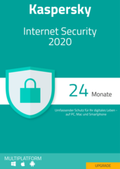Verpackung von Kaspersky Internet Security 2020 Upgrade  (1 Gerät / 24 Monate) [MULTIPLATFORM]