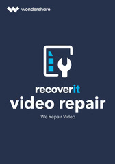 Verpackung von Wondershare Recoverit Video Repair Tool für MAC [Mac-Software]