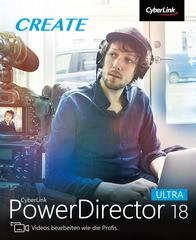 Verpackung von CyberLink PowerDirector 18 Ultra [PC-Software]