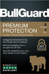Verpackung von BullGuard Premium Protection 5 Geräte 12 Monate [MULTIPLATFORM]
