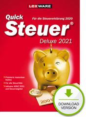 Verpackung von QuickSteuer Deluxe 2021 (für Steuerjahr 2020) [PC-Software]