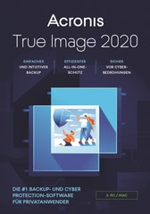 Verpackung von Acronis True Image 2020 (3 Geräte / 12 Monate) [MULTIPLATFORM]