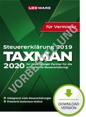 Verpackung von TAXMAN 2021 für Vermieter (für Steuerjahr 2020) - Vorbestellung [PC-Software]