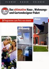 Verpackung von Das ultimative Haus-, Wohnungs-, Gartendesigner Paket [PC-Software]