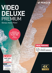 Verpackung von MAGIX Video Deluxe 2020 Premium [PC-Software]