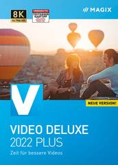 Verpackung von MAGIX Video deluxe 2022 Plus [PC-Software]