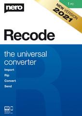 Verpackung von Nero Recode [PC-Software]