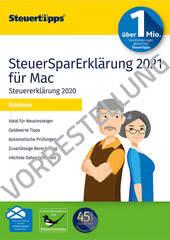 Verpackung von SteuerSparErklärung Rentner 2022 (für Steuerjahr 2021) Mac - Vorbestellung [Mac-Software]