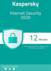 Verpackung von Kaspersky Internet Security 2020 - 1 Gerät / 12 Monate [MULTIPLATFORM]