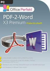 Verpackung von bhv PDF-2-Word X3 Premium [PC-Software]