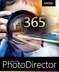 Verpackung von CyberLink PhotoDirector 365 / 12 Monate [PC-Software]