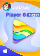 Verpackung von DVDFab Player 6 PC - 1 User 2 Jahre [PC-Software]