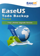 Verpackung von EaseUS Todo Backup Home 13 - Free Lifetime Upgrade [PC-Software]