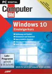 Verpackung von ComputerBild Windows 10 Einsteigerkurs [PC-Software]