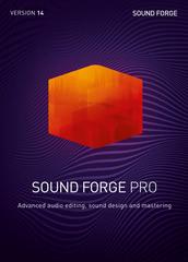 Verpackung von Sound Forge Pro 14 [PC-Software]