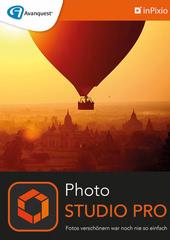 Verpackung von inPixio Photo Studio 10 Pro - 1 PC / 1 Jahr [PC-Software]