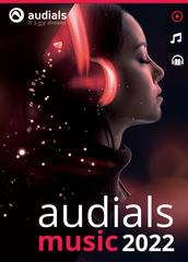 Verpackung von Audials Music 2022 [PC-Software]