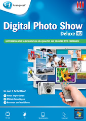 Verpackung von Digital PhotoShow Deluxe [PC-Software]