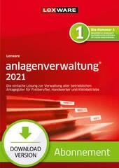 Verpackung von Lexware anlagenverwaltung 2021 - Abo Version [PC-Software]