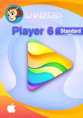 Verpackung von DVDFab Player 6 Mac - 1 User 2 Jahre [Mac-Software]