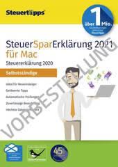 Verpackung von SteuerSparErklärung Selbstständige 2022 (für Steuerjahr 2021) Mac - Vorbestellung [Mac-Software]